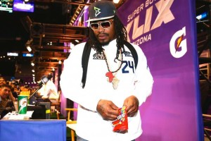 Marshawn Lynch, Thrill-Seekers Notch Blowout Super Bowl Media Day Win over Media