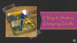 6 ways to hack an emergency candle at home [videos]