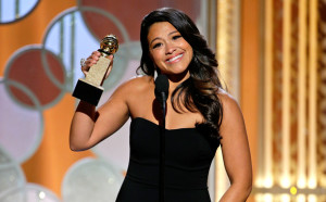 'Jane the Virgin' star Gina Rodriguez wins Golden Globe