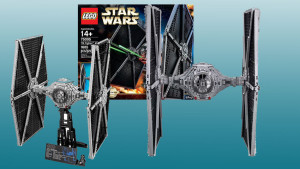 Lego's new 'Star Wars' collectible TIE fighter is big and beautiful