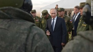 Russia conducts airstrike in Syria