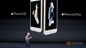 Apple reports record sales of iPhone 6s, 6s Plus in first weekend
