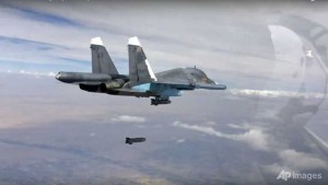 EU demands immediate halt to Russia strikes on moderate Syrian rebels – Channel NewsAsia