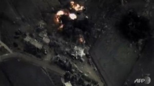 Reports of Russian strikes on areas held by Syria rebels troubling, NATO says