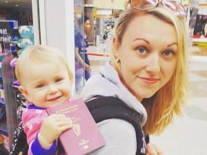 Travel Mad Mum used her maternity leave to travel with her newborn