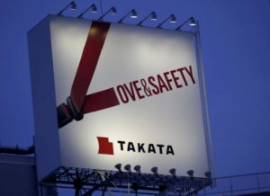 Japanese airbag maker Takata files for bankruptcy, gets U.S. sponsor